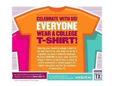 GenTX College Shirt Day
