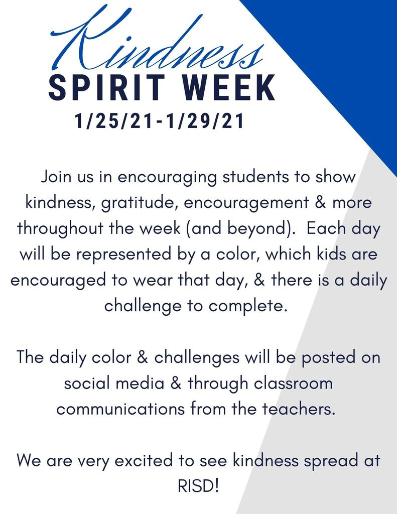 Kindness week info