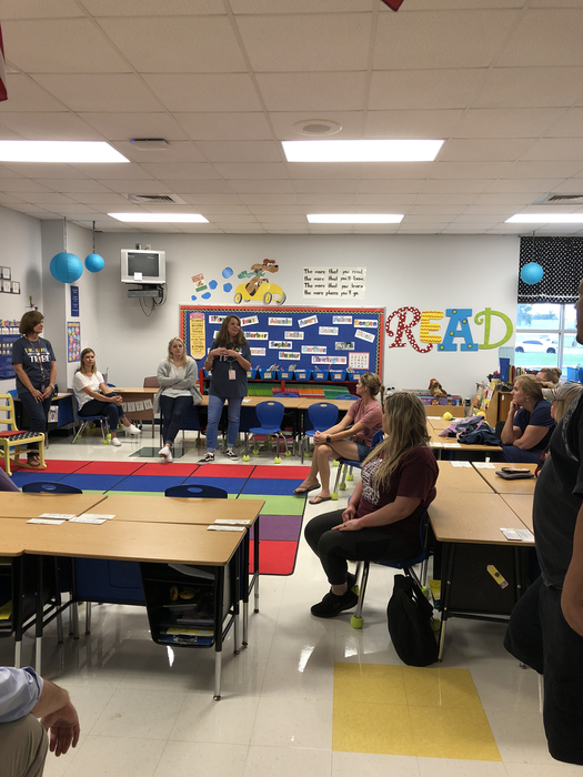 1st grade parent night