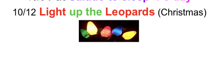 Light Up the Leapords
