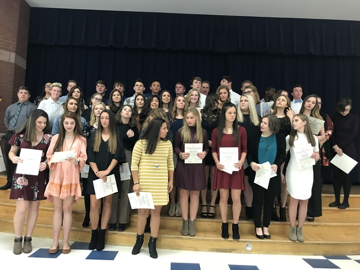 Robinson High School's 2018 NHS inductees