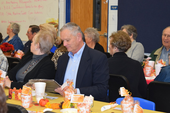 Class of 1969 honored at Thanksgiving Lunch