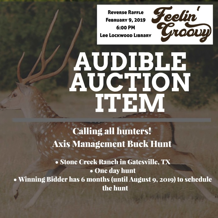 REF Reverse Raffle Audible Auction Hunt