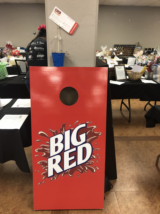 $25 Coach's Smoke and Big Red Corn Hold - silent auction