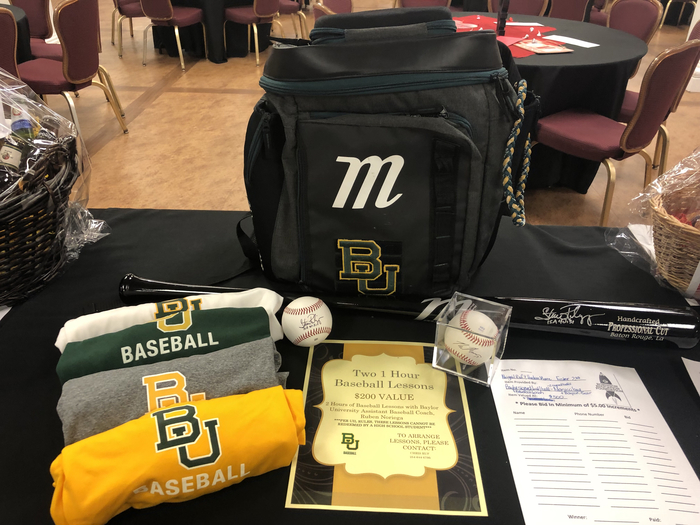 BU baseball lessons & other stuff - REF Reverse Raffle Silent Auction