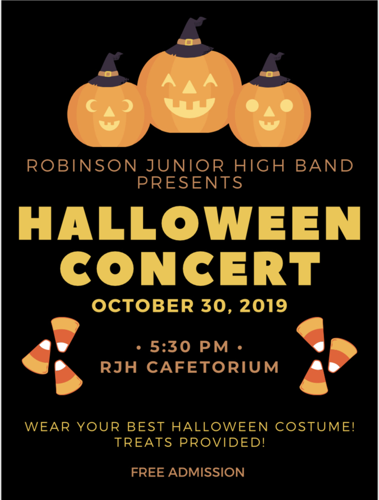 Come see RJH tomorrow evening!