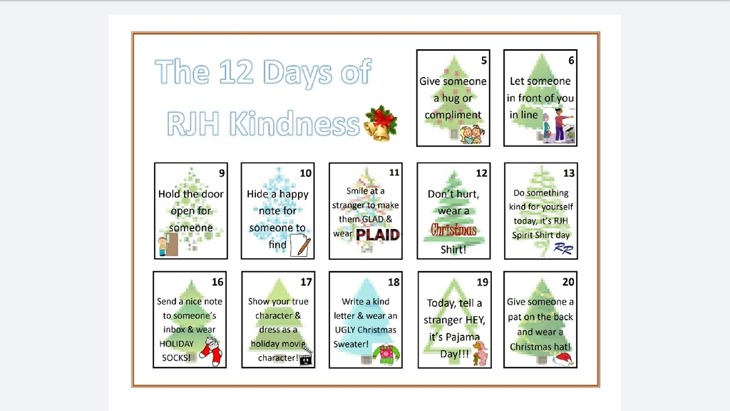 12 Day s of Kindness